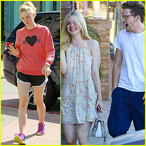 Elle Fanning And Boyfriend Michelle Rodrig...