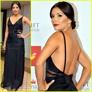 Eva Longoria Goes Chic for Global Gift Gala 2015