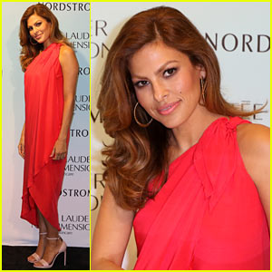 Eva Mendes Takes a Trip to Miami for Estee Lauder Promo