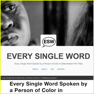 'Every Single Word' Tumblr Highlights Lack of Diversity in Film