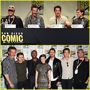 Miles Teller & Michael B. Jordan Talk Playing Superheroes on 'Fantastic Four' Panel