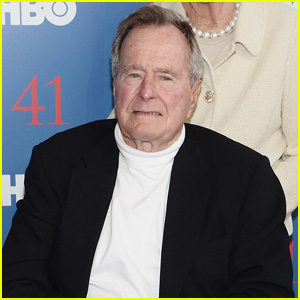 Former President George H.W. Bush Breaks Bone in Neck