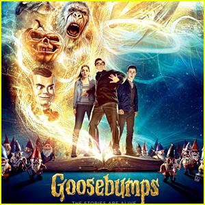 'Goosebumps' Movie Trailer & Poster Revealed!