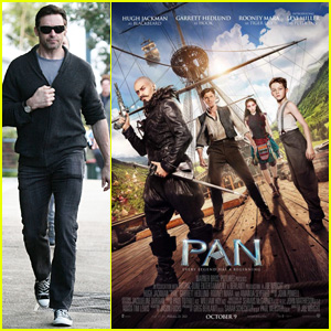 Hugh Jackman Becomes Blackbeard in First Look 'Pan' Poster!
