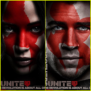 Jennifer Lawrence & Liam Hemsworth Are 'Faces of the Revolution' For 'Hunger Games' Posters!