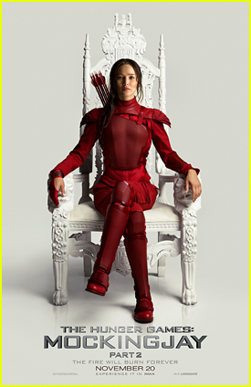 Katniss Paints The Throne Red In New Poster For 'Hunger Games: Mockingjay Part 2' Poster