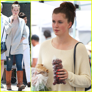Ireland Baldwin Seems Really Excited for Shark Week!