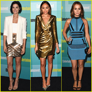 Jaimie Alexander & Ashley Madekwe Both Opt for Metallic at EW's Comic-Con 2015 Party