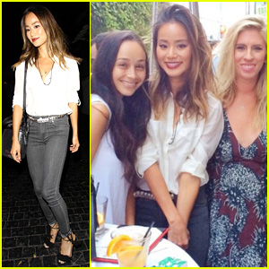 Jamie Chung Celebrates Publicist Pal's Birthday With Friends