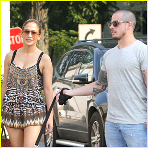 Jennifer Lopez & Casper Smart Spend Fourth of July Weekend Together!