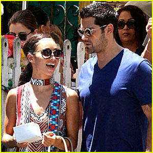 Jesse Metcalfe & Cara Santana Are Coast to Coast Travelers