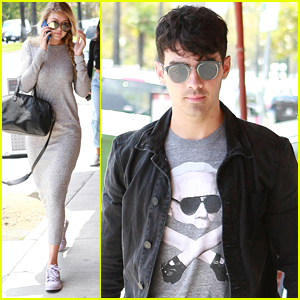 Gigi Hadid Lunches With Joe Jonas Before His DJ Gig In Vegas This Weekend