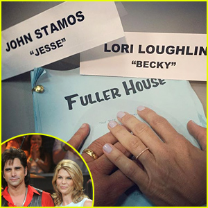 John Stamos & Lori Loughlin Reunite as Uncle Jesse & Aunt Becky in Sweet 'Fuller House' Pic!