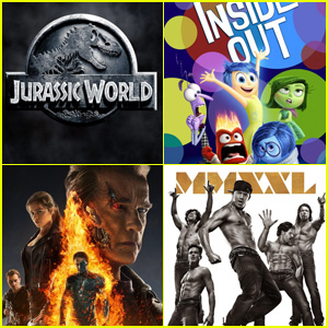 'Jurassic World' & 'Inside Out' Beat Out 'Terminator: Genisys' & 'Magic Mike XXL' at Fourth of July Weekend Box Office