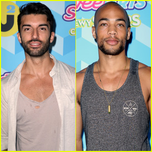 Justin Baldoni is One Doting Dad at JJ Summer Bash Presented by SweeTARTS Chewy Sours