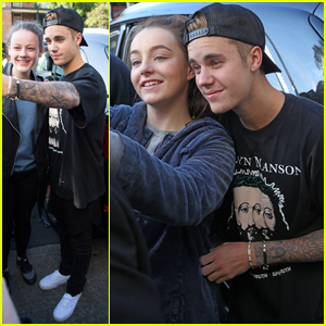 Justin Bieber Greets Fans Ahead of Hillsong Church Conference!