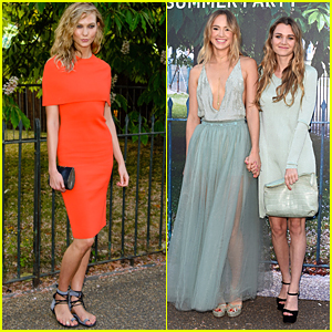 Karlie Kloss Meets Up With Suki Waterhouse For Serpentine Summer Gallery Party