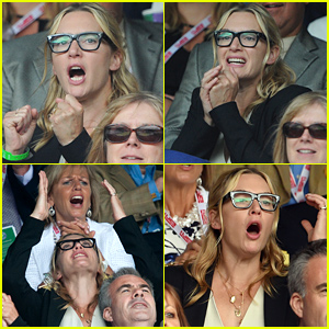 Kate Winslet Went Through a Series of Emotions at Wimbledon!