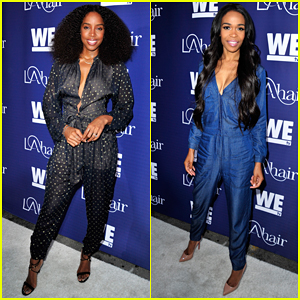 Kelly Rowland & Michelle Williams Reunite at #LAHair Premiere!