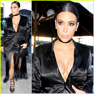 Kim Kardashian Says She's About to Pop!