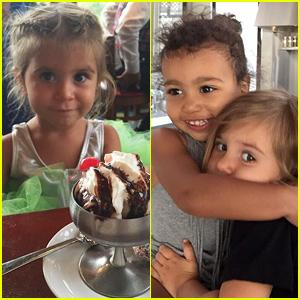 Kourtney & Kim Kardashian Celebrate Penelope's Birthday with Some Adorable Photos!
