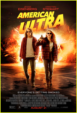 Kristen Stewart & Jesse Eisenberg Play Stoners in Final 'American Ultra' Trailer - Watch Now!