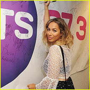 Leona Lewis Talks 'I AM' On Radio Station Promo Tour