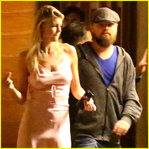 Leonardo DiCaprio Walks Arm-in-Arm with Girlfriend Kelly Rohrbach After Dinner