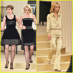 Lily Rose Depp & Mother Vanessa Paradis Share Runway for Paris Fashion Week!