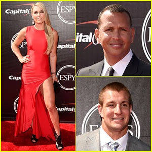 Lindsey Vonn & Alex Rodriguez Make Comebacks at ESPYs 2015