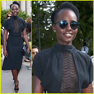 Lupita Nyong'o Gets 'Goosebumps' At Maison Margiela Show!