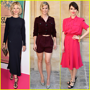 Meg Ryan, Alice Eve & Carice Van Houten Are Classy Ladies for Schiaparelli Show