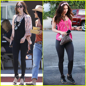 Megan Fox Shows Off Her Super Fit Body in Studio City