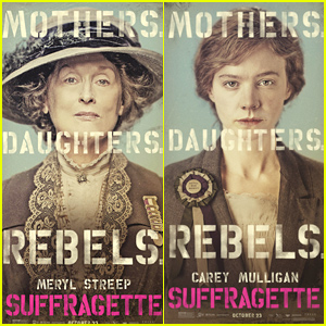 Meryl Streep & Carey Mulligan Star in 'Suffragette' Posters!