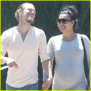 Naya Rivera & Ryan Dorsey Go Shopping Before Baby Comes
