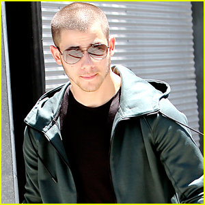 Nick Jonas Grabs Lunch After Teaming Up With Staples For 'Think It Up' Program