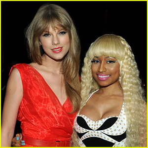 Nicki Minaj Accepts Taylor Swift's Apology, Blows Katy Perry a Kiss As Well