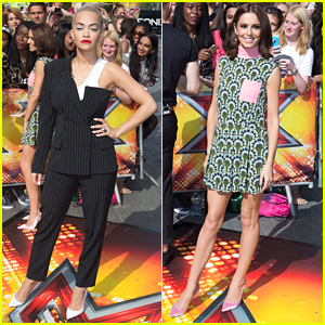Rita Ora & Cheryl Fernandez-Versini Get Ride From Olly Murs To 'X Factor' Auditions