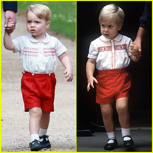 Prince George is Spitting Image of His Dad Prince William!