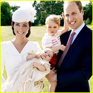Princess Charlotte's Christening: First Official Photos Released!