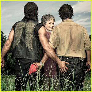 Andrew Lincoln & Norman Reedus Grab Each Other's Butt in this 'Walking Dead' Photo!
