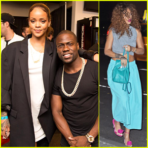 Rihanna Checks Out Kevin Hart's Show in Brooklyn