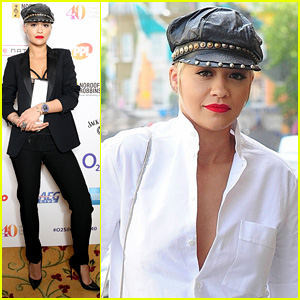 Rita Ora Wins Best Female at London's O2 Silver Clef Awards