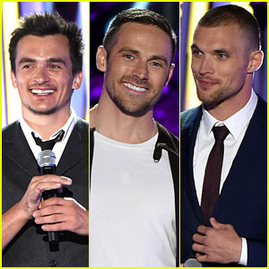 Rupert Friend, Dylan Bruce, & Ed Skrein Up the Hotness at MTV Fandom Awards!