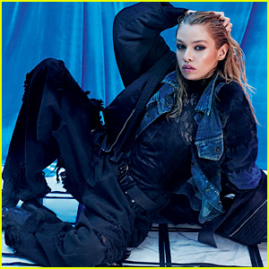 Miley Cyrus' Rumored Girlfriend Stella Maxwell Poses for 'V' Mag