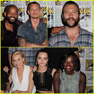 'Suicide Squad' Cast Surprises at Comic-Con Sans Jared Leto