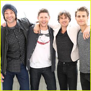 'Supernatural' Meets 'Vampire Diaries' at Comic-Con 2015!