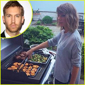 Calvin Harris Can't Help But Gush Over Girlfriend Taylor Swift!