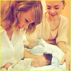 Jaime King Introduces Taylor Swift to Her Godso