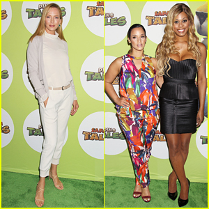 Uma Thurman Hosts The Launch Of Dino Tales & Safari Tales!